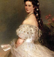 450px-Empress_Elisabeth_of_Austria_in_dancing-dress,_1865,_Franz_Xaver_Winterhalter