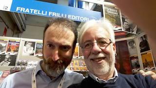 Carlo Frilli e Alessandro Bastasi: editore e scrittore.