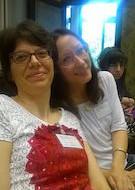 S.M. May e Cristina Bruni