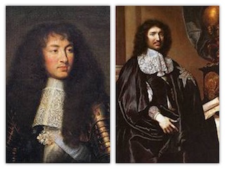 Luigi XIV e Colbert
