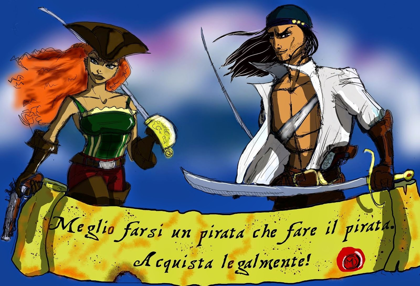 Meglio farsi un pirata che fare il pirata…