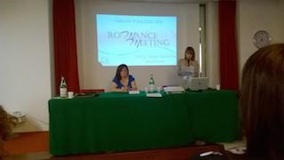 Lara Haralds al I Meeting italiano del Romance M/M