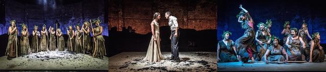 Le Baccanti di Euripide, Almeida Theatre, London