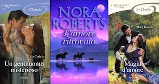 Nora Roberts, Liz Carlyle e Mary Balogh per L'Artiglio Rosa