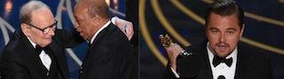 Oscar 2016: finalmente Di Caprio e Morricone