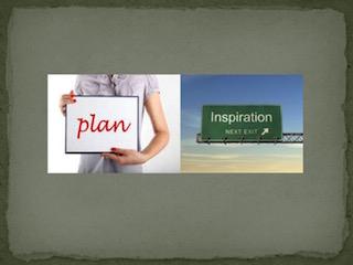 Ispirazione vs Pianificazione: chi vince? – prima puntata