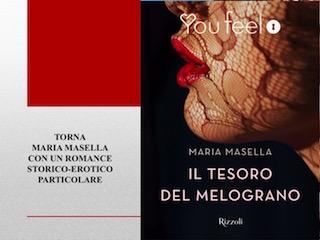 """Anteprima: """"Il tesoro del melograno"""", di Maria Masella"""