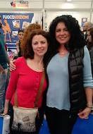 Bruny Doci Rizzo e Adele Vieri Castellano: lettrice e scrittrice finalmente si incontrano.