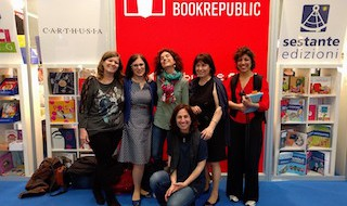 "Le ""Emme"": Monica Lombardi, Silvia Ami, Valeria Corciolani, Viviana Giorgi, Valeria Merante, Roberta Marasco."