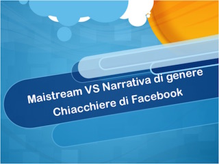 Mainstream o narrativa di genere? (3)