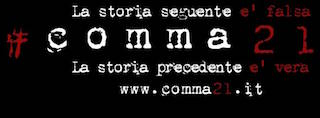 Paura in palcoscenico, arriva #comma21