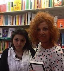L'autrice con Giusy Giulianini