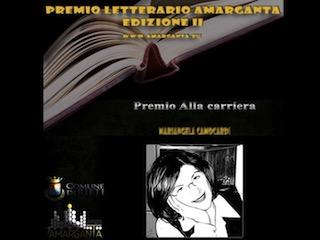 Premio alla carriera a Mariangela Camocardi