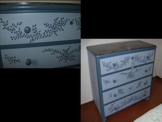 I mobili dipinti di Silvana Sanna