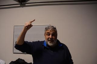 Il regista Domenico Rodinò