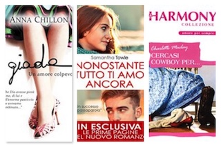 Recensioni in Pillole: Anna Chillon, Samantha Towle, Charlotte Mclay