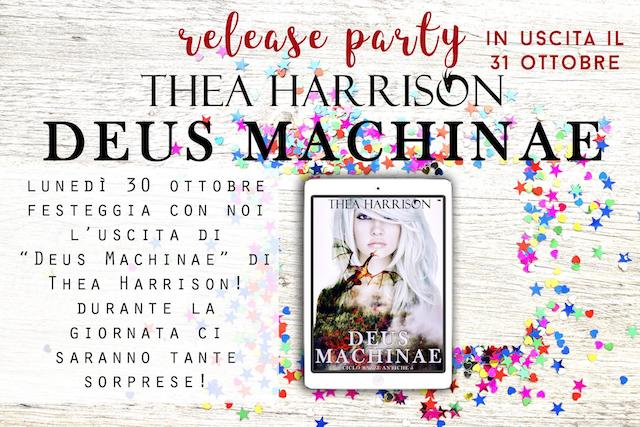 News: Deus Machinae, di Thea Harrison