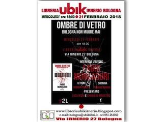 Eventi: Ombre di vetro, di Fabio Mundadori – Prima nazionale
