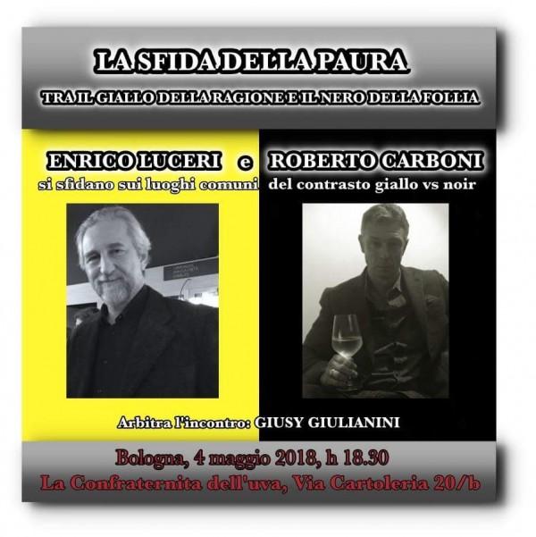 Bologna-Eventi La sfida della paura: Giallo vs Noir, di Giusy Giulianini
