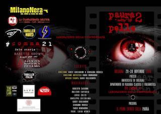 Bologna-Eventi: Paura sotto la pelle 2, di Giusy Giulianini