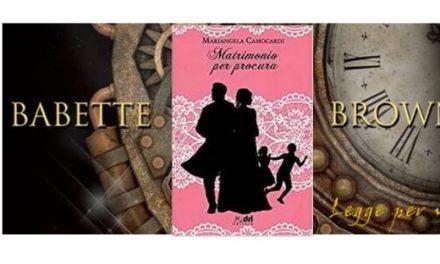 Recensione di Silvana Sanna: Matrimonio per procura, di Mariangela Camocardi (I consigli dei lettori)