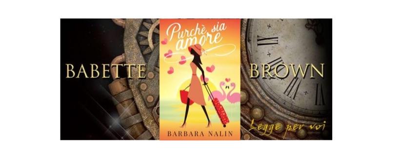 Segnalazioni: Purché sia amore, di Barbara Nalin