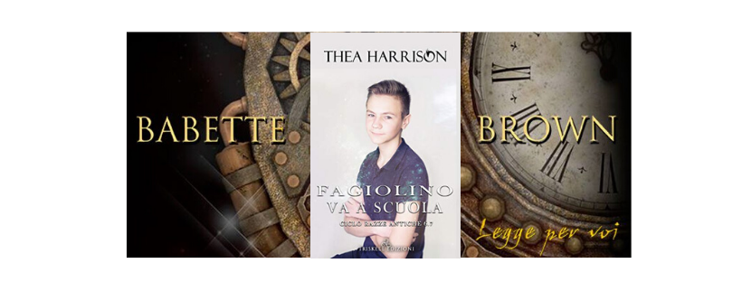 Recensione: Fagiolino va a scuola, di Thea Harrison