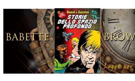 Recensione: Storie dello spazio profondo, di Bonvi e Guccini (fumetti)