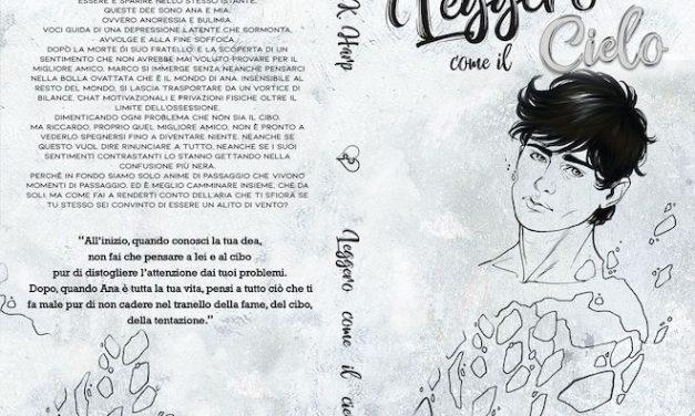 Leggero come il cielo, il nuovo romanzo di C.K. Harp