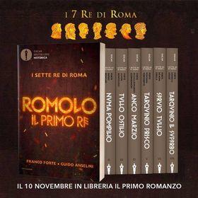 Segnalazione: Romolo il primo re, di Franco Forte & Guido Anselmi