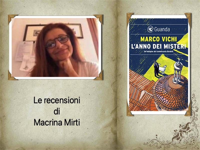 Consigli & Sconsigli: L'anno dei misteri, di Marco Vichi